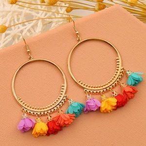 3/$30 💛 Boho Ruffle Earrings
